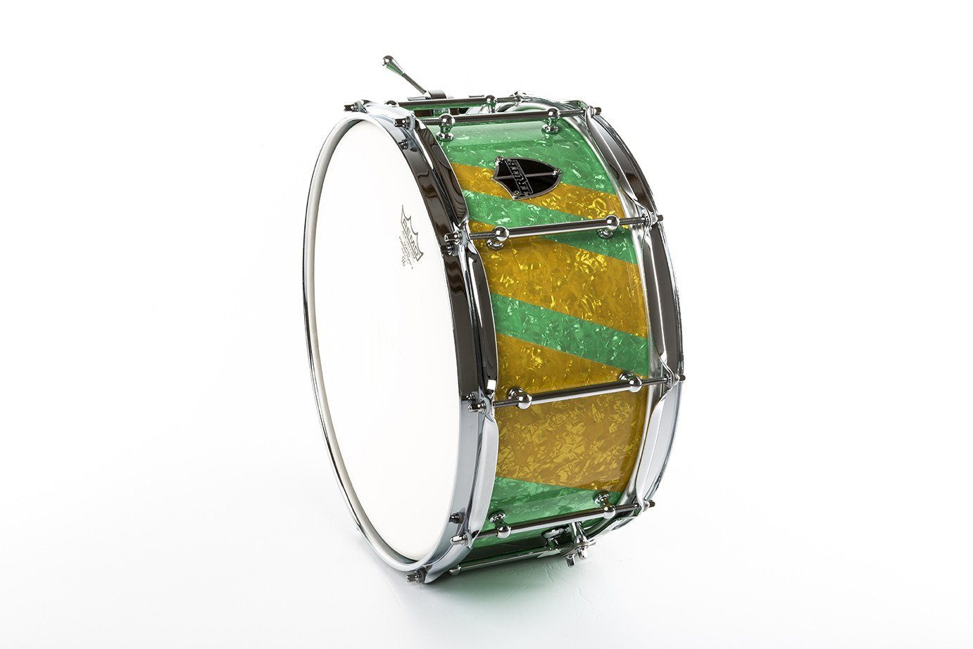 Truth Custom Drums The Green Machine 14x6 5 10ply Maple