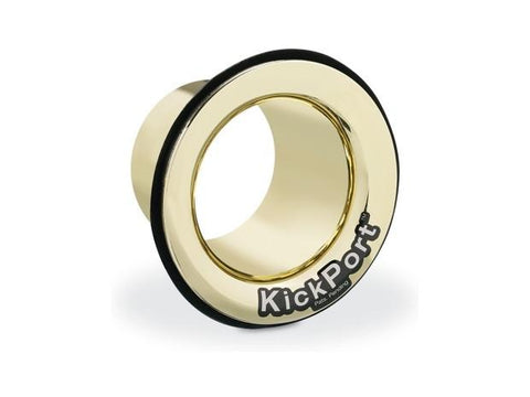 Kickport Sound Port for Bass Drums Gold