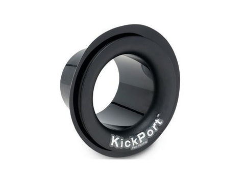 Kickport Sound Port for Bass Drums Black