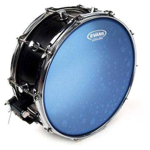 "Evans 14"" Hydraulic Blue Coated Drum Head"