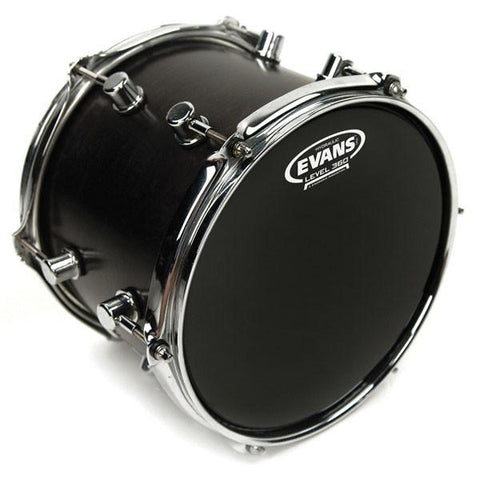 "Evans 14"" Hydraulic Black Drum Head"