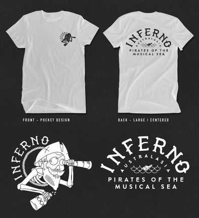 INFERNO LADIES TEE SHIRT