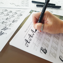 Load image into Gallery viewer, Brush Lettering Printable Workbook