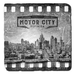 Motor City Refinish Detroit Coaster Set