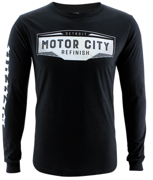 Motor City Refinish Logo Long Sleeve T-Shirts