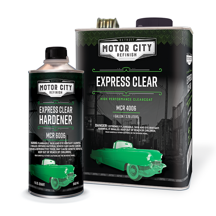 Express Clear & Hardener Kit