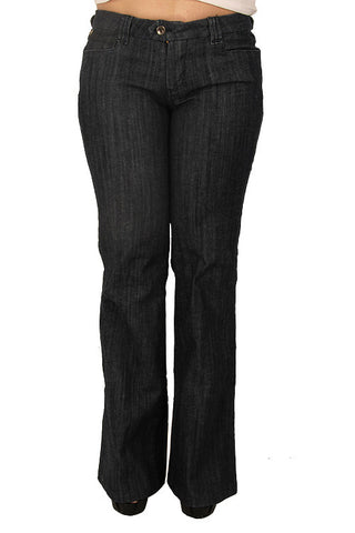 Parasuco 8AUDREY Low Rise Wide Leg Dark Blue Slim Fit Ladies Jeans Ladies Jeans DUSK Deals