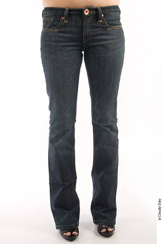 Parasuco 8-IT Extra Low Rise Extra Slim Fit Dark Blue Denim Jeans
