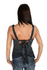 Parasuco Black Blue Ladies Chimera Vintage Cami Tank Top 8AJA Ladies Tank Tops DUSK Deals - 2