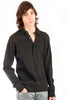 Parasuco Mens Dark Gray Rugby 9-HENLEY Polo Long Sleeve Shirt Mens Shirts DUSK Deals - 1