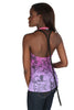 Parasuco Ombre Pink Purple Ladies Grafitti Beaded Tail Tank Top 8JULES Ladies Tank Tops DUSK Deals - 2