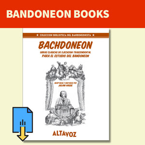 BachDoneon - Classic pieces for bandoneon