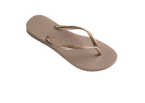 Metallic Slim Sandal