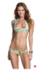 Spearmint Jive Swim Top