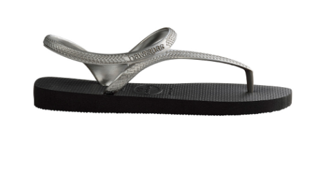 Flash Urban Sandal in Black/Silver
