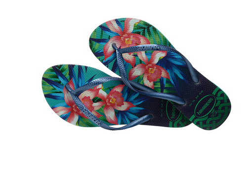 SLIM TROPICAL SANDAL MINT GREEN