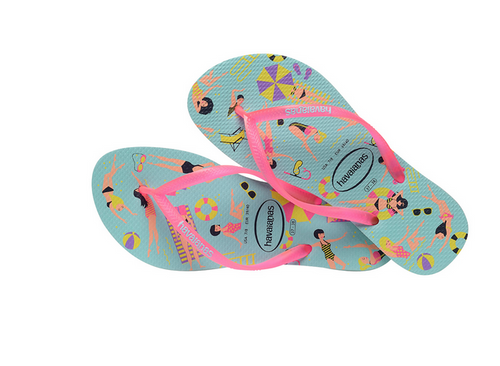 Slim Bathing Beauties Flip Flop