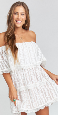 Kailey Crochet Lace Dress