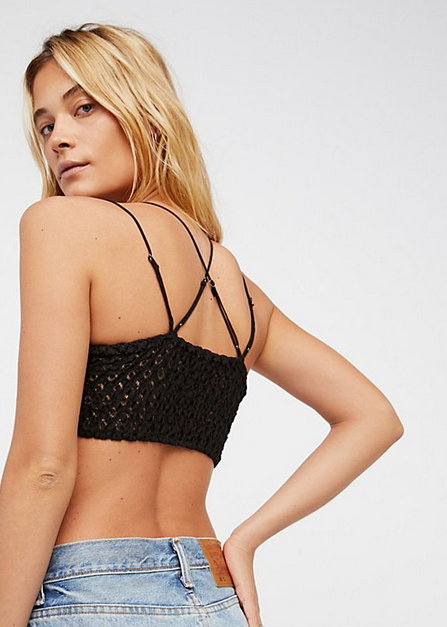 Adella Bralette in Black