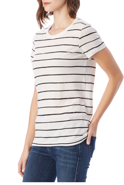 Printed Ideal T-Shirt Stripe