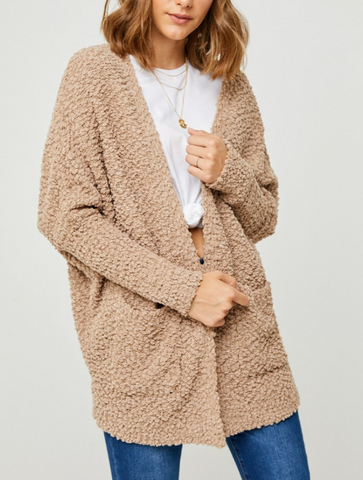 Carlee Cable Knit Cardigan