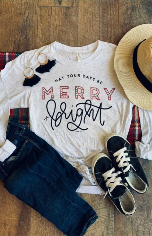 Merry & Bright Days Tee