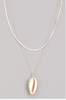 Ocean Lover Shell Necklace
