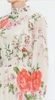 Amelia Ruffle Floral Midi Dress