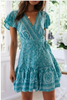 Kate Boho Wrap Dress
