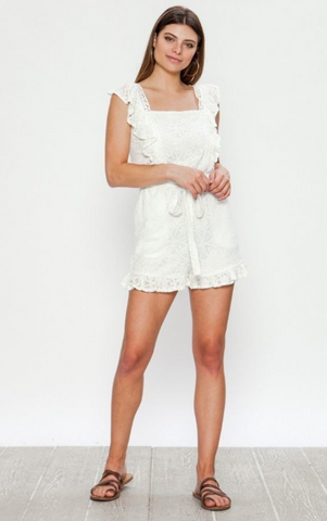 Skyler Star Ruffle Dress