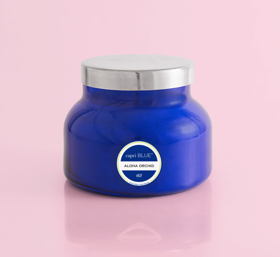 Aloha Orchid Blue Signature Jar Candle