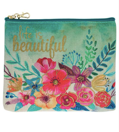 Life is Beautiful Pouch