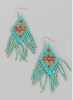 Stella Beaded Fringe Earring