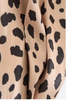 Bailey Leopard Satin Skirt