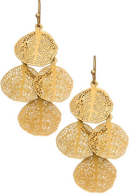 Leaf Chandilier Earring
