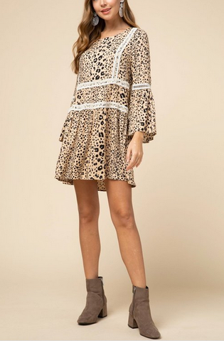 Sadie Cheetah Dress