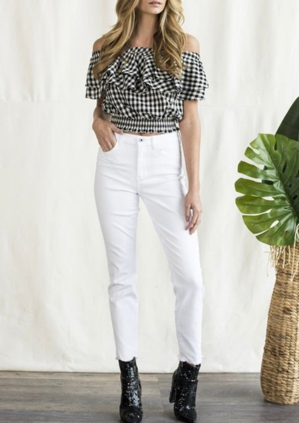Margot Skinny Jean in White