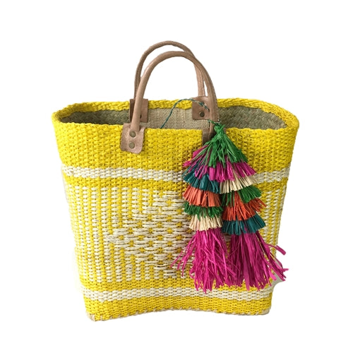 IBIZA Tote in SUNFLOWER