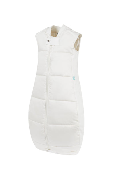 Organic Cotton Quilted Sleeping Bag: 3.5 Tog (Natural)