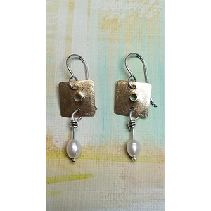 Square Simplicity earrings