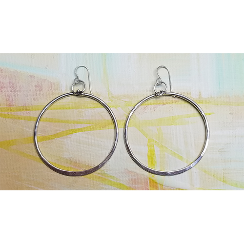 Timeless  Hoop earrings