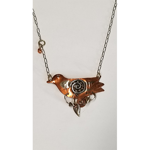 Nesting Bird necklace