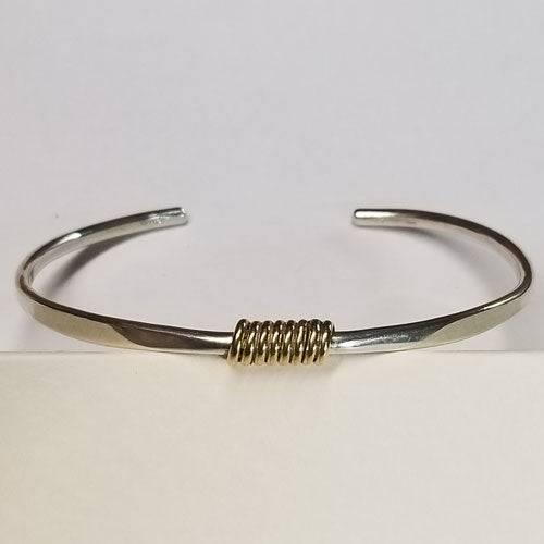 Coiled and Centered bracelet