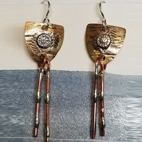 Harvest Moon earrings