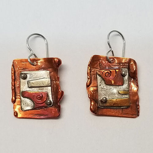 Homage to the Square earrings
