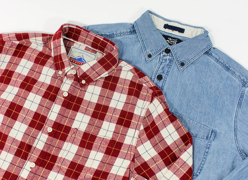 Shirts from Penfield and Deus Ex Machina