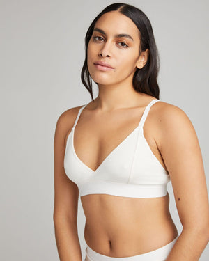 Women's Richer Poorer Classic Bralette in Bone