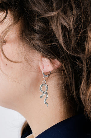 Snake Drop Earrings - Philistine