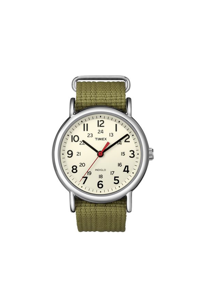 38mm Nylon Weekend in Olive - Philistine