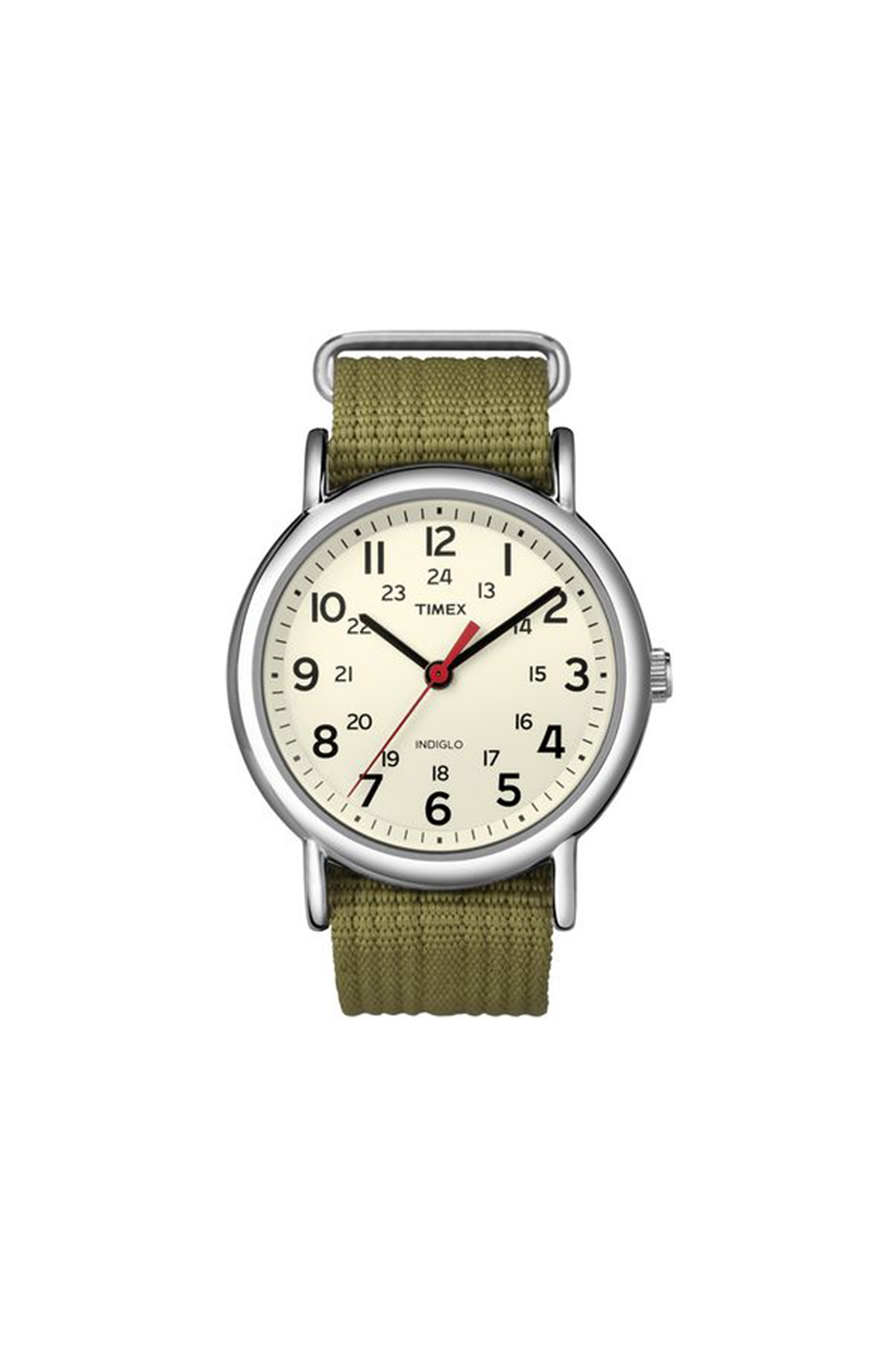 38mm Nylon Weekender in Olive - Philistine